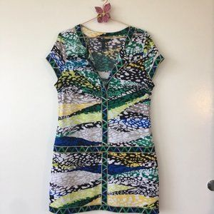 BCBG MAXAZRIA Mini Dress Tunic L